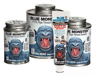 76001 4OZ BLUE MONSTER TEFLON PIPE DOPE, MILL-ROSE