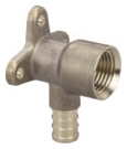 NP28LF-04 (46233) 1/2 PEX CRIMP X FIP DROP EAR ELL (Lead Compliant)