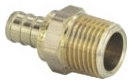 NP04LF-04 (46321) 1/2 PEX CRIMP X 1/2 MALE MIP ADAPTER (Lead Compliant)