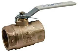 70LF-102-01 3/8 APOLLO LEAD FREE 2PC BRONZE COPPER BALL VALVE 600 WOG STD PORT MODEL #: 70LF10201