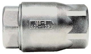 "62-107-01 1-1/2"" CONBRACO STAINLESS BALL CONE IP CHECK VALVE 400# W.O.G. MODEL #: CVS112"