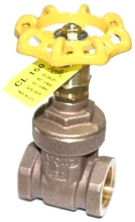 "3028001 3"" APOLLO 150# WSP 300# WOG BRZ GATE VALVE RS UB MODEL #: 106T3"