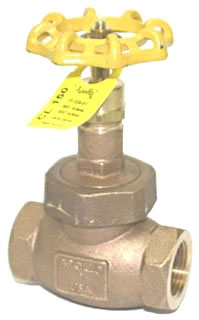 "33-227-01 1-1/2"" APOLLO 122T 150# GLOBE VALVE UB, TEFLON DISC MODEL #: 122T112"