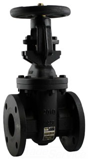 "6GA11GB1 10"" APOLLO 125# WSP 200# WOG IBBM OS&Y FLANGED GATE VALVE **Not approved for potable water 2014** MODEL #: 6GA11GB1"