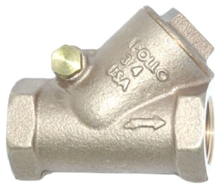 "61Y75501 1"" APOLLO 300# WSP 600# WOG BRZ SWING CHECK VALVE Not approved for potable water 2014 MODEL #: 168T1"