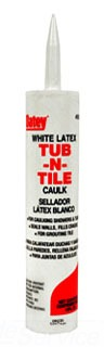 30241 OATEY 10OZ WHITE TUB & TILE CAULK, CARTRIDGE