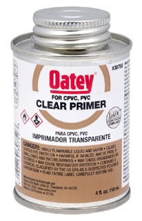 30751 OATEY 8OZ CLEAR PRIMER