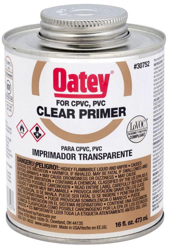 30752 OATEY 16OZ CLEAR PRIMER