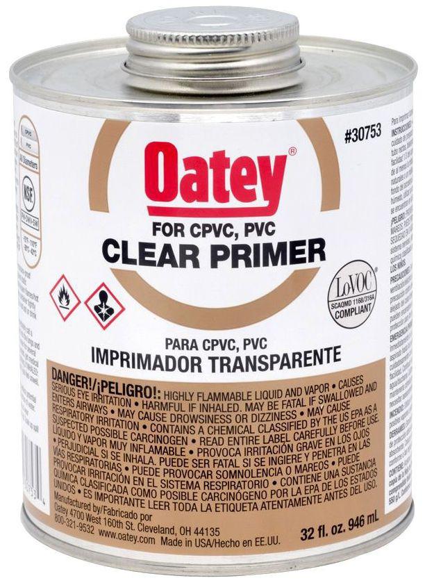 30753 OATEY 32OZ CLEAR PRIMER