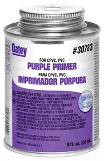 30783 OATEY 8OZ PURPLE PRIMER