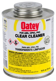 30795 OATEY 16 OZ. PVC ALL PURPOSE CLEANER (YELLOW)
