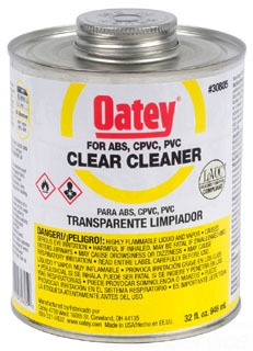 30805 OATEY 32OZ PVC ALL PURPOSE CLEANER (YELLOW)