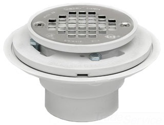 "42213 OATEY 2-3"" SHOWER DRAIN FOR SHOWER PAN [PBR400] (130 SERIES)"