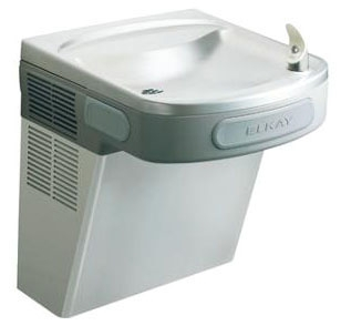 EZS8S ELKAY BARRIER FREE STAINLESS STEEL WATER COOLER WITH FRONT & SIDE PUSHBARS