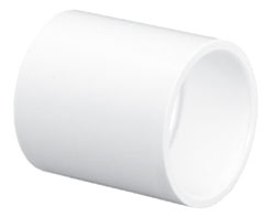 """4600-40 4"""" SCH 40 PVC COUPLING (429-040 LASCO)(PVC 02100)"""