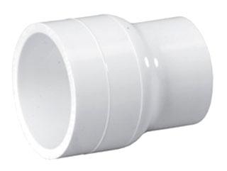 4600-0604 3/4X1/2 SCH 40 PVC RED. COUPLING (429-101 LASCO) (PVC 02100)