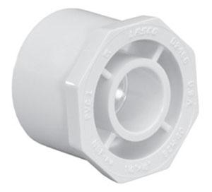 """4618-6030 6""""X 3"""" SCH 40 PVC BUSHING (437-530 LASCO)(PVC 2107)"""
