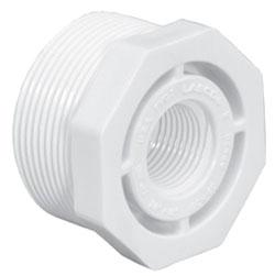 """4618T-1412 1-1/2""""X1-1/4""""SCH 40 PVC MXFE BUSH (439-212 LASCO)(PVC 2112"""