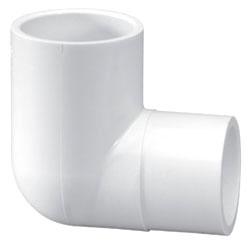 "46072-12 1-1/4"" SCH 40 PVC ST 90ELL (409-012 LASCO)(PVC 2304)"
