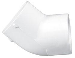 """4606-14 1-1/2"""" SCH 40 PVC 1/8 (45) ELL (417-015 LASCO)(PVC 2309)"""