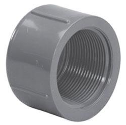 "4517T-14 1-1/2"" SCH 80 PVC THD CAP (848-015 LASCO)"