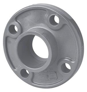 "4541-06 3/4"" SCH 80 PVC SOC FLANGE ( 851-007 LASCO)( PVC 8500)"