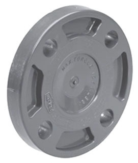 "853-030 3"" SCH-80 PVC BLIND FLANGE"