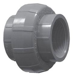 "4533VT-20 2"" SCH 80 PVC UNION THD [8800] VITON"
