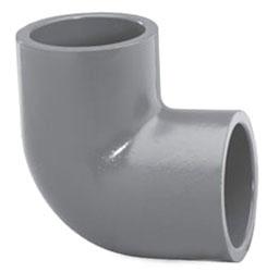 """4507-14 1-1/2"""" SCH 80 PVC SOC 1/4 (90) (806-015 LASCO)(PVC 8300)"""