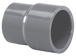 """4500-3020 3"""" X 2""""SCH 80 PVC SOC REDUCER (829-338 LASCO)(PVC 8100)"""