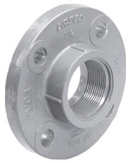 "5141T-20 2"" CPVC SCH 80 THREAD FLANGE 9852-020"