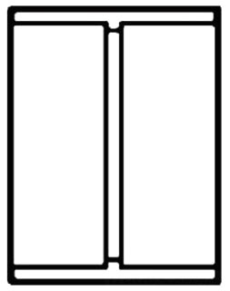 "4"" PVC DWV Coupling"