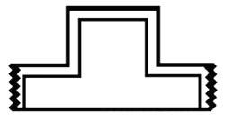 "8"" PVC DWV Male Plug (Mpt)"