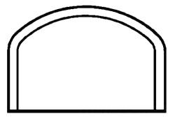 """4817-100 10"""" PVC DWV CAP (D16010 PL. TRD) D116-100"""