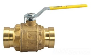 "LFFBV-3-PRESS-XLC-24 WATTS 2-1/2"" FULL PORT BALL VALVE 0125084"