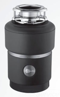 PRO 750 ISE 3/4-HP DISPOSER 6YR WARRANTY, 2X GRIND AUTO-REVERSE ANTI-MICROBIAL BAFFLE