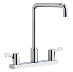 LKD2442C ELKAY TWO-HANDLE HIGH RISE KITCHEN FAUCET ASSEMBLY LESS HOSE SPRAY