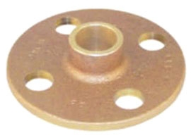"2-1/2"" Threaded Flange - Copper Lead Free"