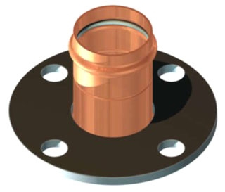 "2"" Copper Press Flange"