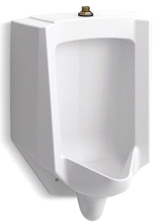 K4991-ET-0 KOHLER BARDON ACCUFLUSH 1/8 GPF- 1 GPF URINAL - TOP SPUD