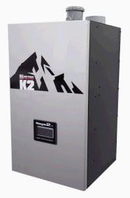 K2-100A-4G00 BURNHAM HIGH EFFICIENCY WALL HUNG BOILER W/CIRC. 100MBH INPUT,NG/LP 0-10100' ALT