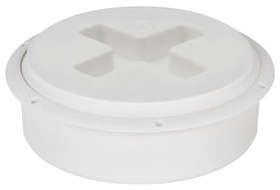 "875-4P SIOUX CHIEF 4"" PVC FLUSH TO FINISH SURFACE CLEANOUT BUSHING (ZURN CO-2411-PV4, C60-008 OATEY 43733)"