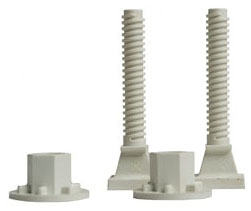 "425-PB SIOUX 2.5"" NYLON CLOSET BOLTS Plumb Perfect"