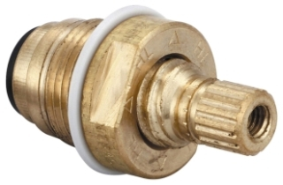 G-453-ER CENTRAL BRASS COMPLETE HOT STEM STANDARD O-RING COMPRESSION ( OLD# SU453ER / G-353ER)
