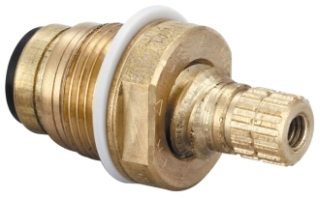 G-454-EL CENTRAL BRASS COLD QUICK-PRESSION QUARTER-TURN O-RING STEM ASSEMBLY WITH GASKET(X1028-Y) (REPLACES G-453-EL)