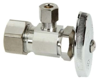 "OCR09XC 1/2"" COP X 1/4 OD ANGLE COMPRESSION STOP (A212DIMPC) LEAD COMPLIANT"