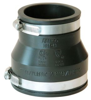 "1056-43 4"" X 3"" CI/PVC COUPLING MR56-43"