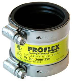 "3000-150 1-1/2"" LOW FLEX /SHIELDCPL CP-14 CI to Plastic, Steel or XHCI"