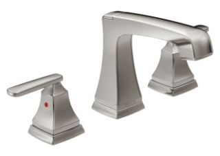 3564-SSMPU-DST Stainless Delta Ashlyn: Two Handle Widespread Lavatory Faucet