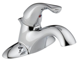 520-MPU-DST Chrome Delta Classic: Single Handle Centerset Lavatory Faucet